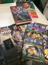 Dr Who book collection in Ramstein, Germany