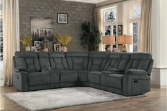 "NEW! URBAN QUALITY ""COMFY"" GREY SOFA RECLINER SECTIONAL in Camp Pendleton, California"