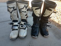 Boots in 29 Palms, California
