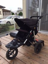 Rugged Buggy / Stroller (Out 'N' About 360 single with cover, 'buggy board' and loads of spares) in Okinawa, Japan