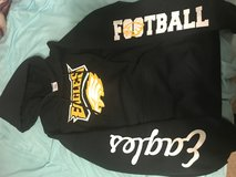 Fort Carson Middle School Football Hoodie in Fort Carson, Colorado