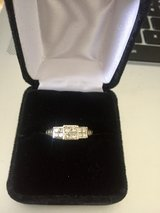 1CT TW Real Diamond Wedding Ring in Ramstein, Germany