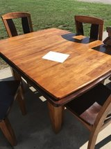 Table with 4 chairs in Manhattan, Kansas