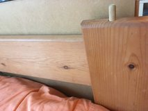 Twin size wooden bed frame in Sandwich, Illinois