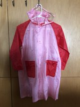 Girls Rain coat in Okinawa, Japan