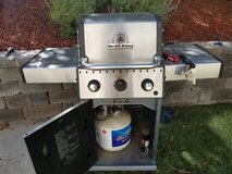 Gas grill with 2 propane tanks in Vista, California