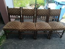 4 Antique chairs in Ramstein, Germany