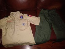 Boy Scout uniform in The Woodlands, Texas