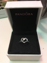 Silver Infinity Heart Ring in Fairfield, California