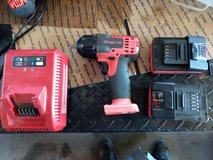 "Snap-on 18 V 3/8"" Drive Monster Lithium Impact Wrench Kit  red in Alamogordo, New Mexico"