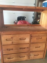 REDUCED! Dresser and attached bookshelf in Morris, Illinois