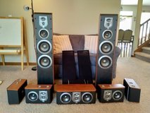 JBL ES-series 7.0 surround sound speaker set in Fort Lewis, Washington