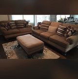 sofa, loveseat, chair and ottoman in Fort Jackson, South Carolina