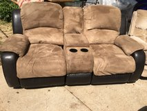Rocking reclining couch in Fort Riley, Kansas