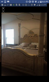Canopy king bed in New Lenox, Illinois