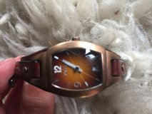 Fossil watch with leather band obo in Ramstein, Germany