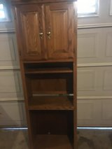 Solid wood book shelf cabniet in Fort Campbell, Kentucky