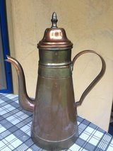 antique copper pot in Ramstein, Germany