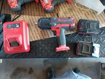 """like new Snap-on  18 V 1/2"""" Drive Cordless Monster Lithium Impact Wrench set in Alamogordo, New Mexico"""