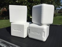 "Styrofoam ""cold-pak"" containers in Perry, Georgia"