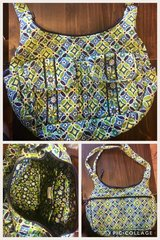 Vera Bradley purse- blue and green in Leesville, Louisiana