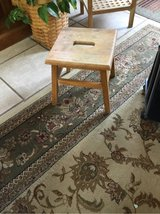 Solid Wooden Step Stool in Fort Campbell, Kentucky