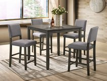 NEW*** Beautiful grey table set in Cleveland, Texas