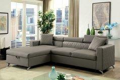 NEW! CONTEMPORARY SOFA CHAISE SECTIONAL WITH SLEEPER + BUILT IN STORAGE!!:) in Vista, California