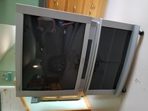 32 in tv and stand.   Like new , used in spare bed room in Elizabethtown, Kentucky