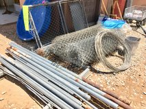 Used chain link fencing/gates/posts/attachments in Yucca Valley, California