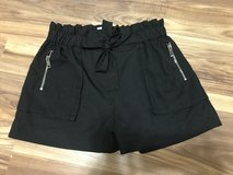 NWOT Black bow shorts in Conroe, Texas