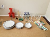 Bin#1-50+pc Grab Bag Collection of Glassware, China and Jamaican Shot Glasses++ in Nellis AFB, Nevada