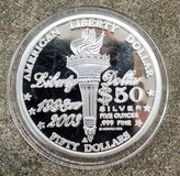 5oz NORFED Silver Coin $50 face value LIBERTY Dollar in Okinawa, Japan