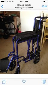 Transport Chair/ wheelchair in Camp Lejeune, North Carolina