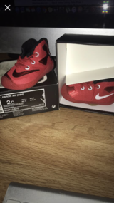 Lebron Baby Shoes in Lackland AFB, Texas