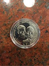 coin— star trek—kirk and picard-actual coin in Beaufort, South Carolina