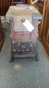 Antique wood burning stove in Glendale Heights, Illinois