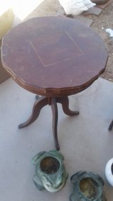 antique  table in Yucca Valley, California