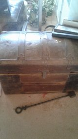 antique trunks in Yucca Valley, California