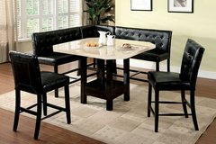 NEW! LUXURIOUS DESIGNER PUB DINING SET WITH BENCHES!! in Vista, California