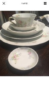 Theodore haviland Limoges antique china 7 piece place setting for 8 in Chicago, Illinois