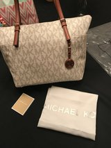 NEW MICHAEL KORS VANILLA JET SET TOTE in Houston, Texas