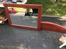 large mirror with hanging shelf in Fort Campbell, Kentucky