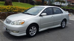 2003 Toyota Corolla S in Honolulu, Hawaii