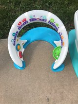 baby stand and play in Fort Leavenworth, Kansas
