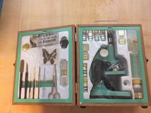 Vintage 1970s Microscope set in Fort Belvoir, Virginia