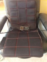 Portable massage seat w/remote control settings in Joliet, Illinois