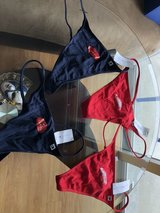BRAND NEW   TOMMY HILFIGER LOW-RISE THONG PANTIES 4 PAIR - ONE MONEY  LARGE in Okinawa, Japan