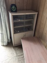 shelve with small table in Okinawa, Japan