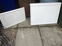 Radiators (14 mixed sizes some doubles) in Lakenheath, UK